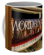 The World In The Library - Encyclopedias Coffee Mug