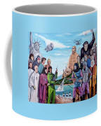 The World Of The Planet Of The Apes Coffee Mug