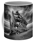 The Wreck Of The Peter Iredale Coffee Mug