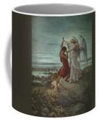 The Wrestle Of Jacob 1855 Coffee Mug