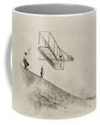 The Wright Brothers At Kittyhawk Coffee Mug