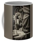 The Writer Candid Shot Venice_dsc1374_02282017 Coffee Mug