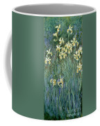 The Yellow Irises Coffee Mug by Claude Monet
