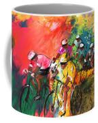 The Yellow River Of The Tour De France Coffee Mug