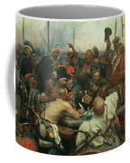 The Zaporozhye Cossacks Writing A Letter To The Turkish Sultan Coffee Mug