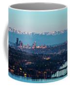 The_olympics_over_seattle Coffee Mug