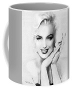 Theo's Marilyn 133 Bw Coffee Mug