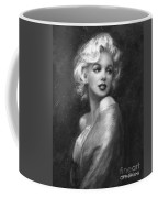 Theo's Marilyn Ww Bw Coffee Mug