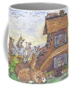 There Was An Old Corgi Who Lived In A Shoe Coffee Mug