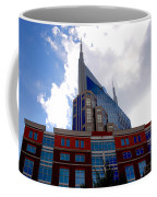 There Where Modern And Old Architecture Meet Coffee Mug