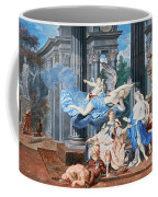 Theseus Crowned With A Laurel Wreath After Slaying The Centaur Bianor Coffee Mug