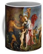 Thetis Receiving The Weapons Of Achilles From Hephaestus Coffee Mug