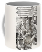 Thigh Cauterization, 16th Century Coffee Mug