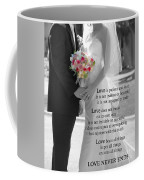 Things To Remember About Love - Black And White #3 Coffee Mug