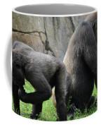 Thinking Gorilla Coffee Mug