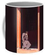 Thinking Monk Coffee Mug