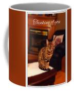 Thinking Of You - Bengal Cat Coffee Mug