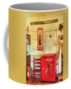 Thirst-quencher Old Coke Machine Coffee Mug