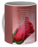 This Little Rose On Digital Linen Coffee Mug