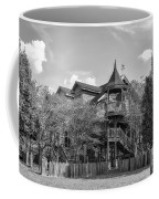 This Old House In Black And White Coffee Mug