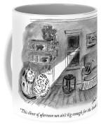 This Sliver Of Afternoon Sun Coffee Mug
