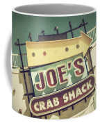 This Way To Joe's Crab Shack Coffee Mug