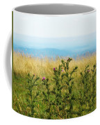 Thistle On The Blue Ridge Coffee Mug