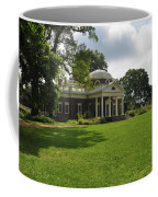 Thomas Jefferson's Monticello Coffee Mug by Bill Cannon