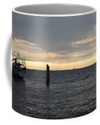 Thomas Point - The Morning Sun Over The Bay Coffee Mug