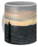 Thomas Point  - View Of The Bay Bridge Coffee Mug