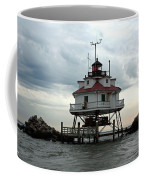 Thomas Point Shoal Lighthouse - Up Close Coffee Mug