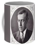 Thomas Woodrow Wilson, 1856 To 1924 Coffee Mug