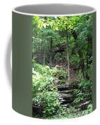 Thorncrown Chapel Setting In The Ozark Mountains Coffee Mug