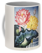 Thornton: Lotus Flower Coffee Mug