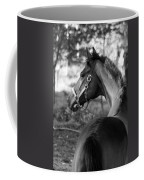 Thoroughbred - Black And White Coffee Mug