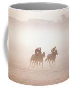 Thoroughbred Horses In Training Coffee Mug