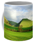 Thorpe Cloud From Bunster Hill Coffee Mug