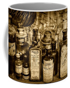 Those Old Apothecary Bottles In Sepia Coffee Mug