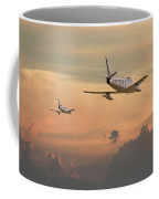 'those Were The Days......' Coffee Mug by Pat Speirs