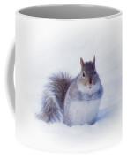 Thoughtful Gray Squirrel Coffee Mug