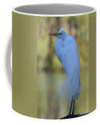 Thoughtful Heron Coffee Mug