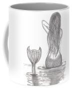 Thoughtful Mermaid Coffee Mug