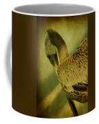 Thoughtful Pelican Coffee Mug