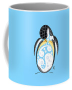 Thoughts And Colors Series Penguin Coffee Mug