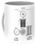 Thread Spool Patent 1877  Coffee Mug