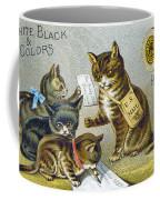 Thread Trade Card, 1880 Coffee Mug