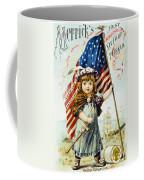 Thread Trade Card, C1880 Coffee Mug by Granger