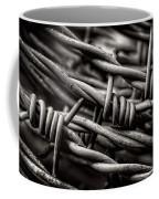 Three Barbs In Black And White Coffee Mug