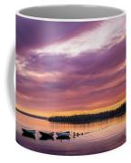 Three Boats In French Village, Nova Scotia #2 Coffee Mug