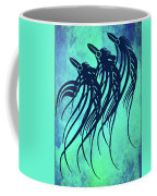 Three Crows Contemporary Minmalism Coffee Mug